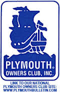 PLYMOUTH OWNERS CLUB LOGO